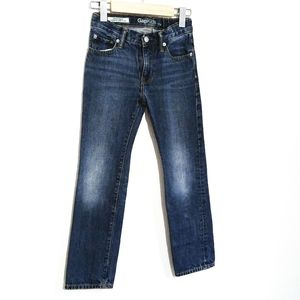 GAP Boys Slim Straight Jeans Distressed